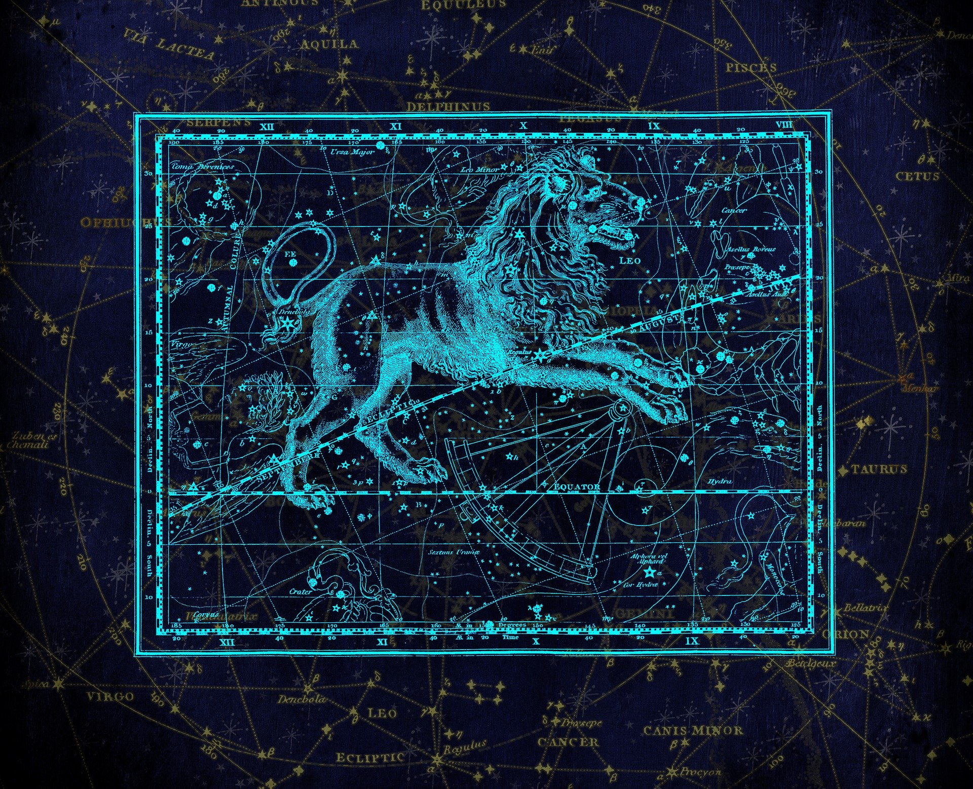Constelatia Leu