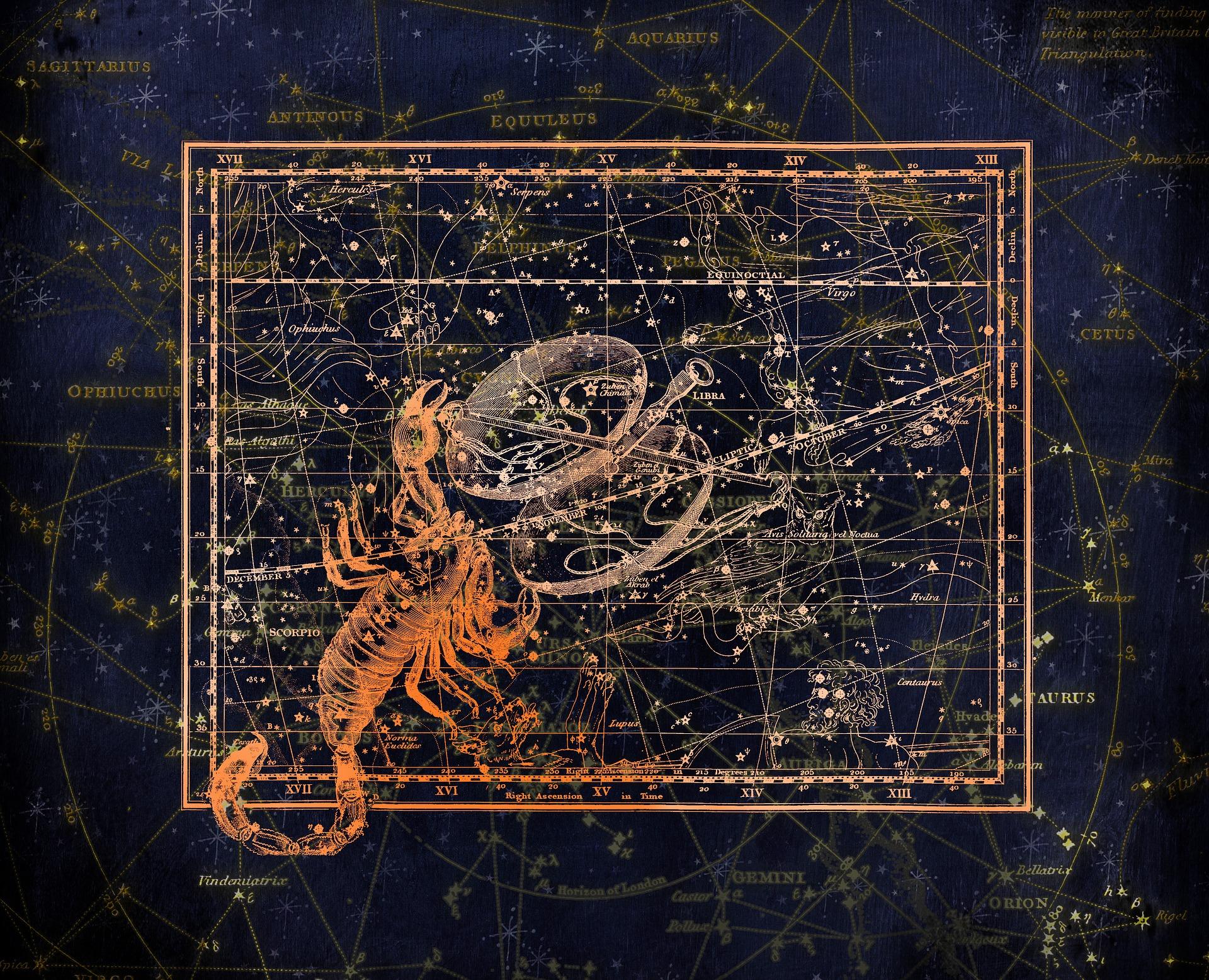 Constelatia Scorpion