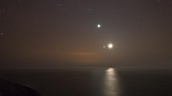 Luna in relatie cu Jupiter Sursa: colinleggphotography.com