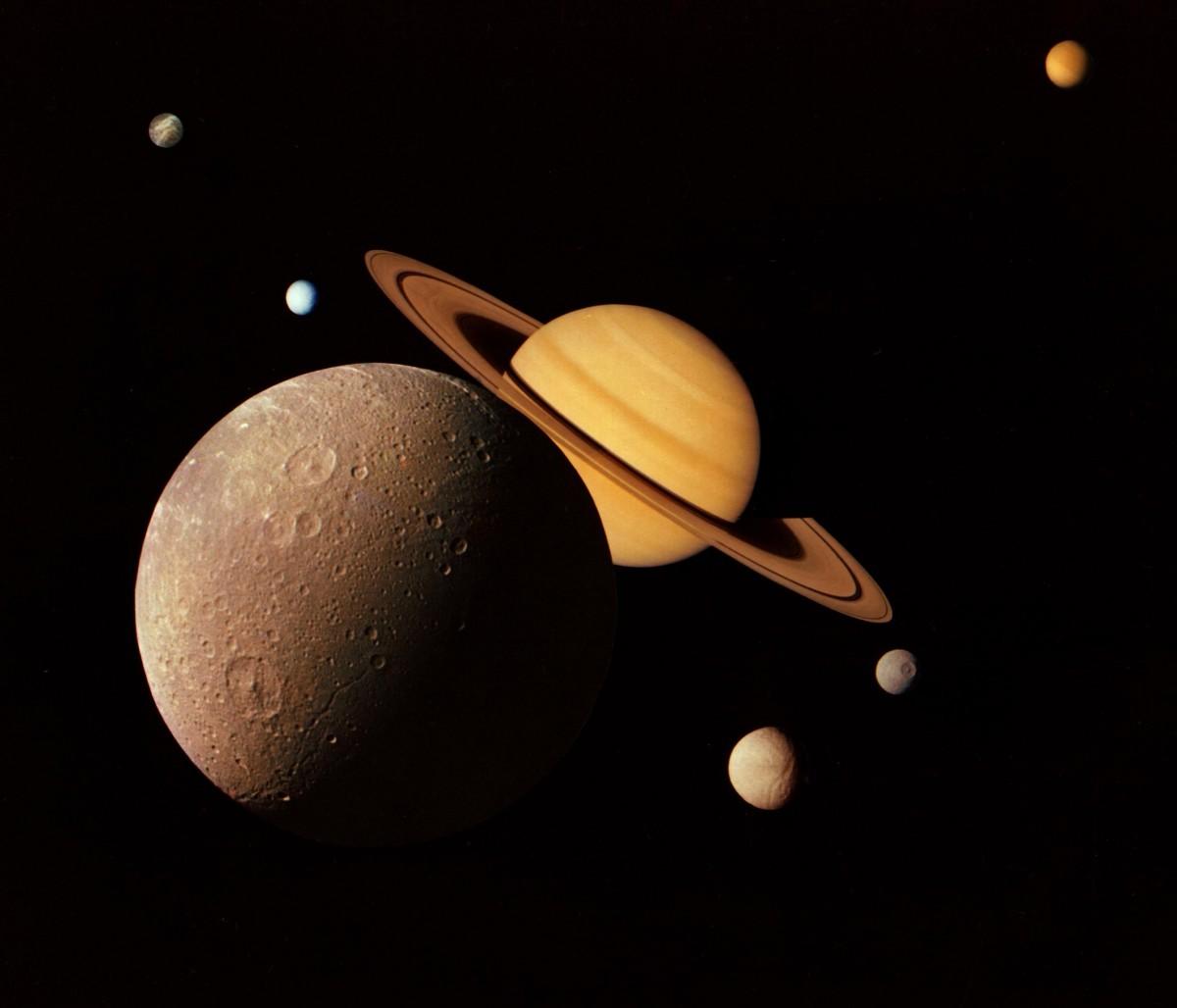 Luna in relatie cu Saturn