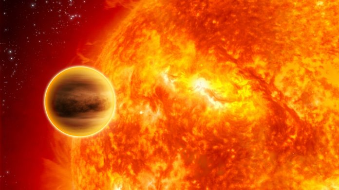 Soarele in relatie cu Jupiter