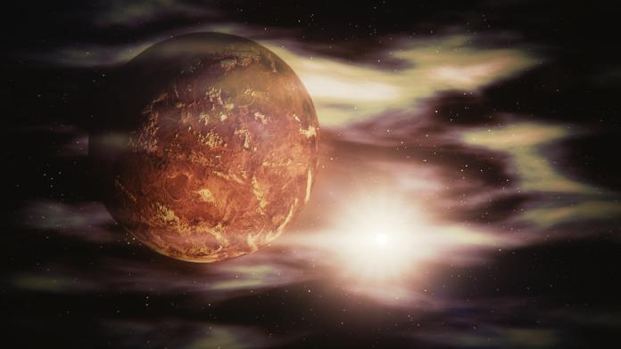 Soarele in relatie cu Venus