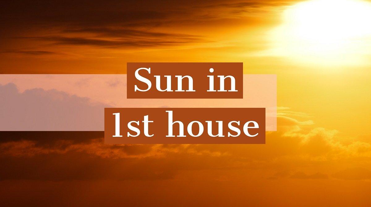 Soarele in prima casa