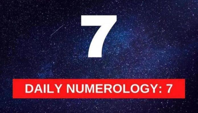 Vibratia numarului 7 in numerologie