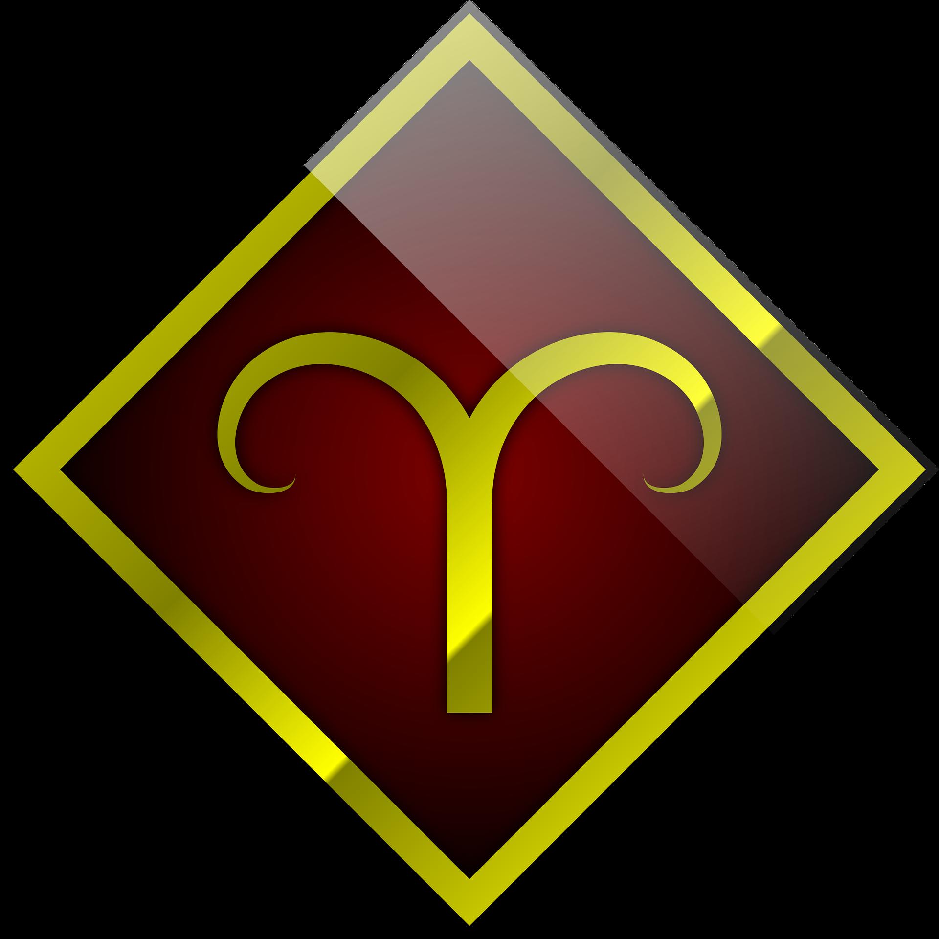 Simbolul zodiei Berbec