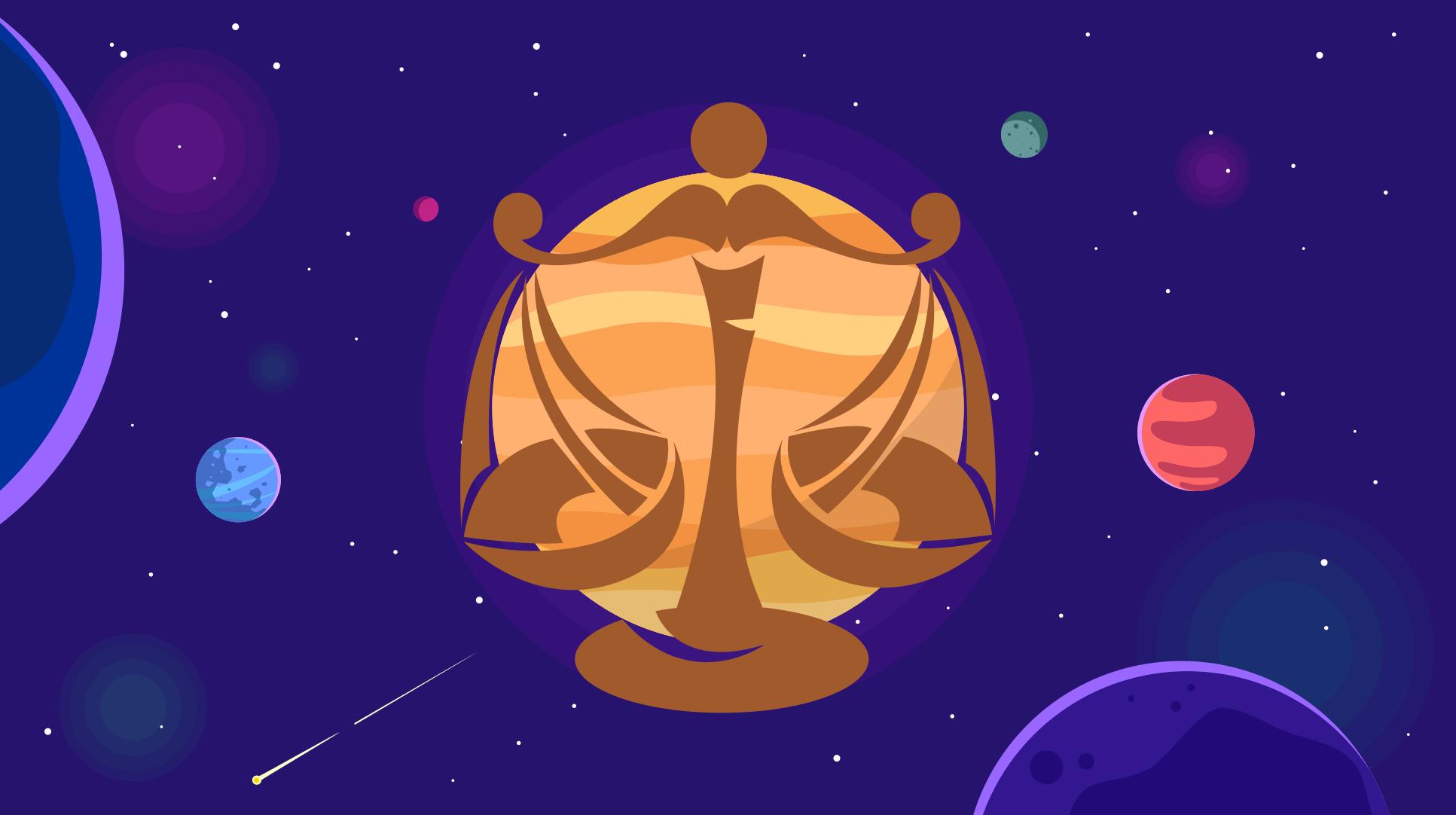 Jupiter in zodia Balanta