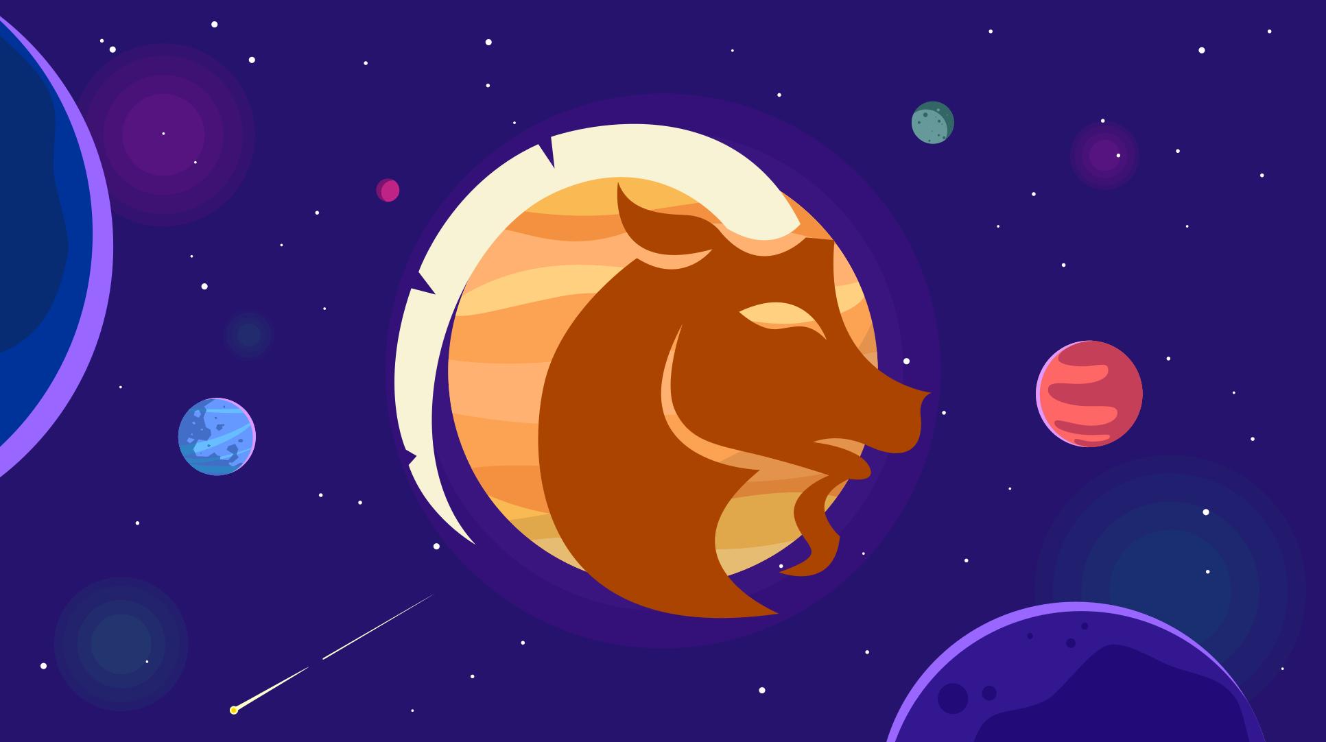 Jupiter in zodia Capricorn