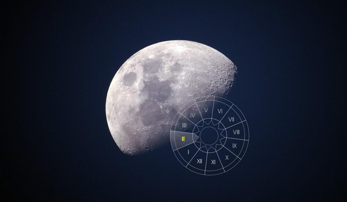 Luna in Casa a II-a