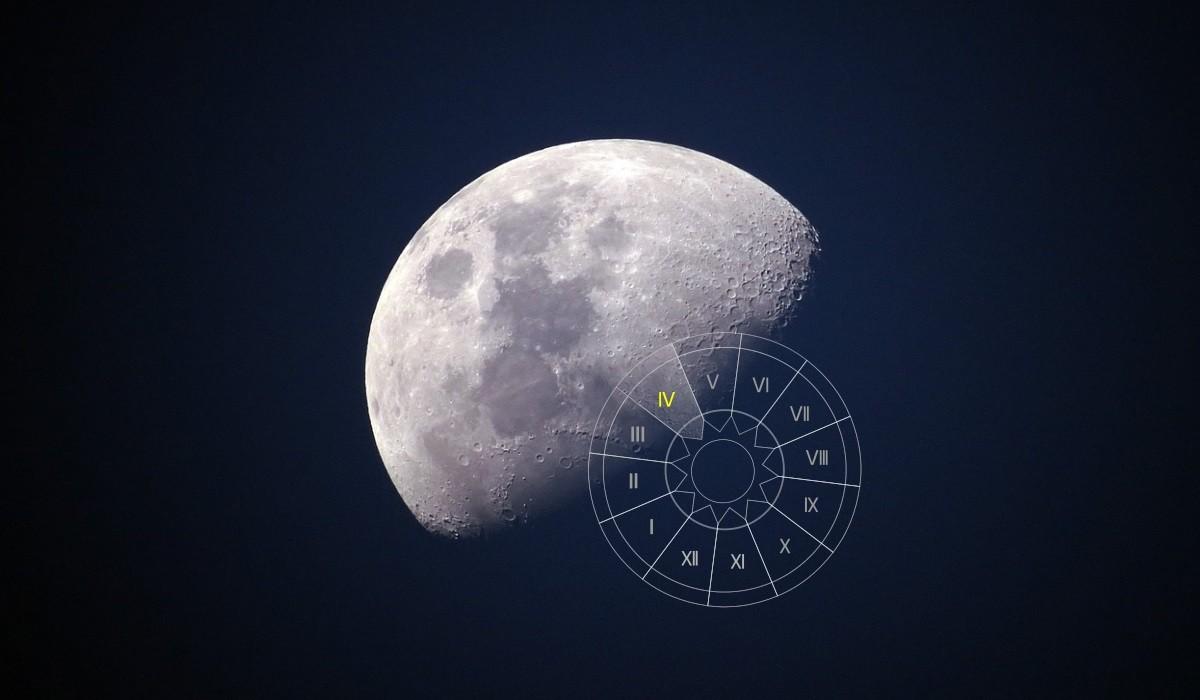 Luna in Casa a IV-a