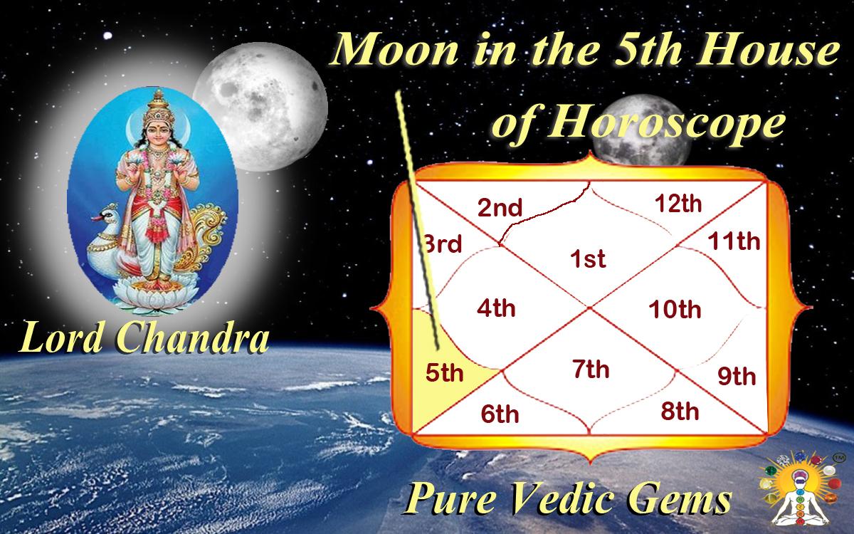 Luna in Casa a V-a