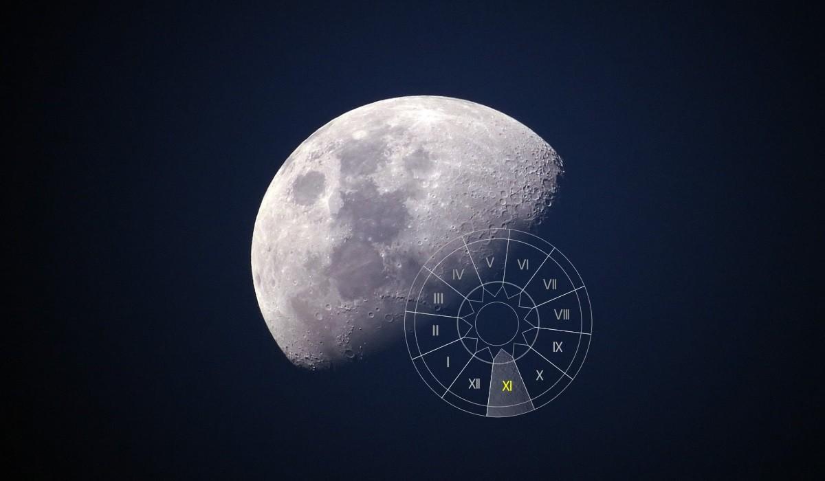 Luna in Casa a XI-a