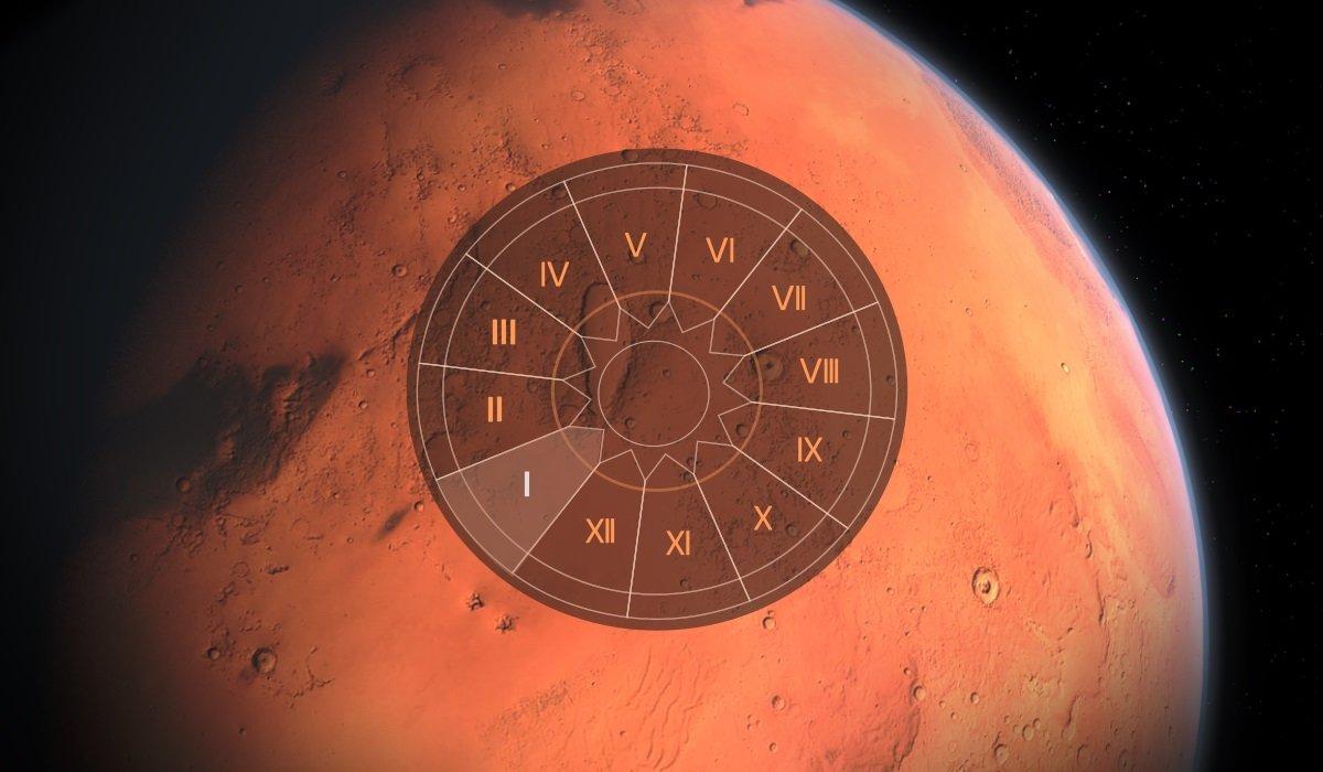 Marte in Casa I