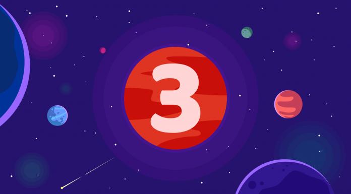 Planetele mai departate in casa a III-a