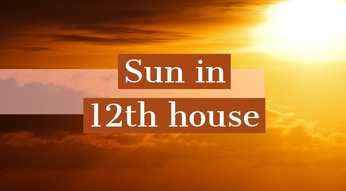 Soarele in casa XII-a
