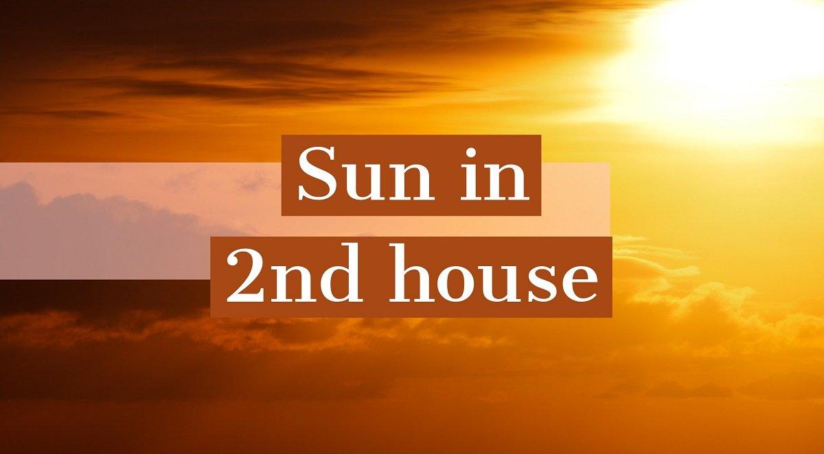 Soarele in casa a II-a