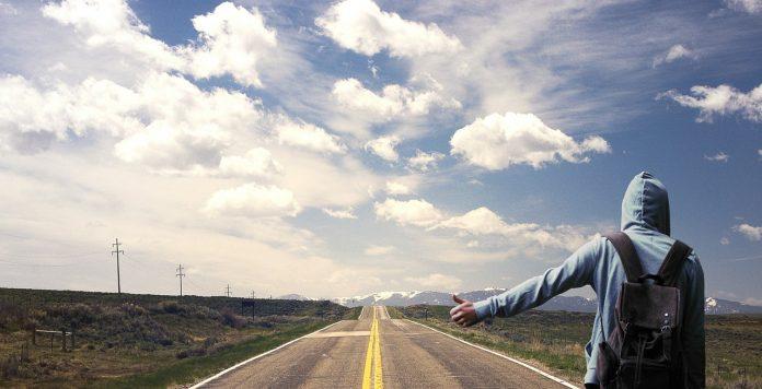 Interpretare vis in care apare autostop