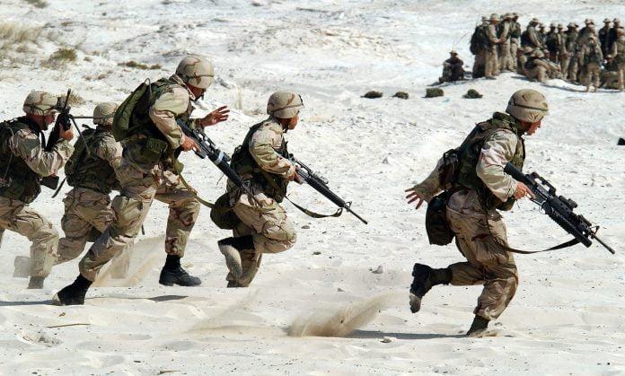 Interpretare vis in care apare o armata