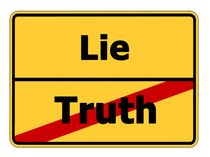 Interpretare vis in care apare o minciuna