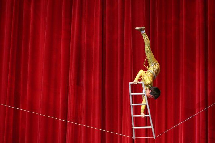 Interpretare vis in care apare un acrobat