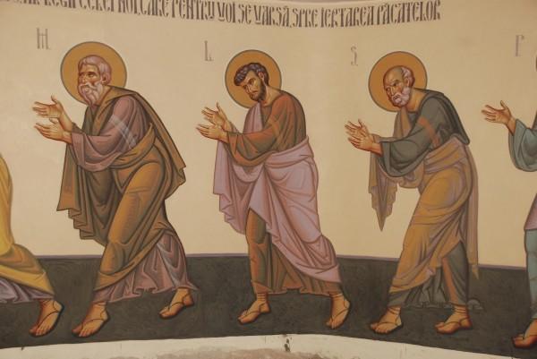 Un apostol Sursa: corinanegreanu.blogspot.com