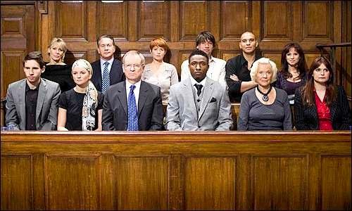 Un juriu Sursa: badlawyernyc.blogspot.com