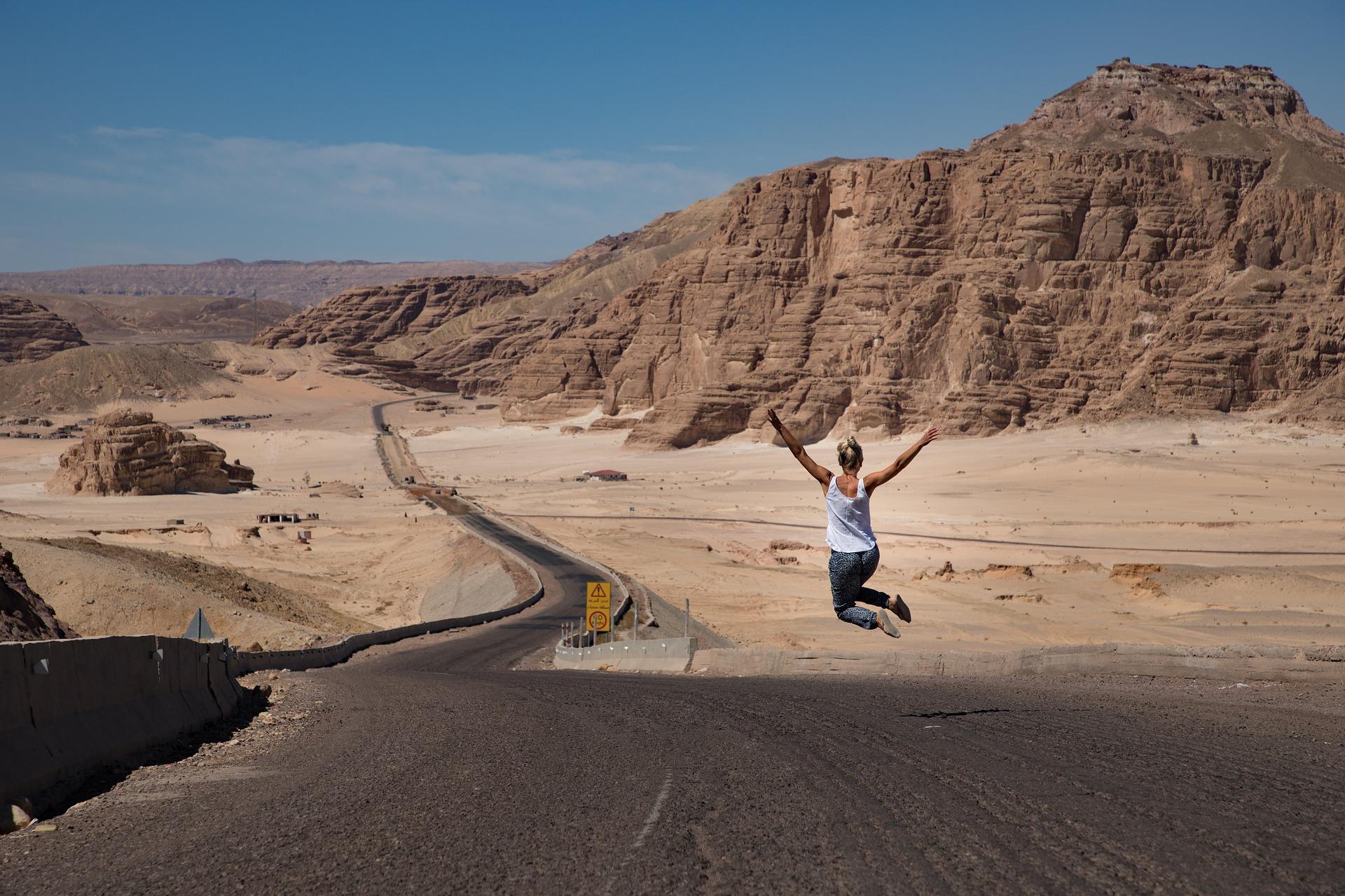 drum prin Egipt