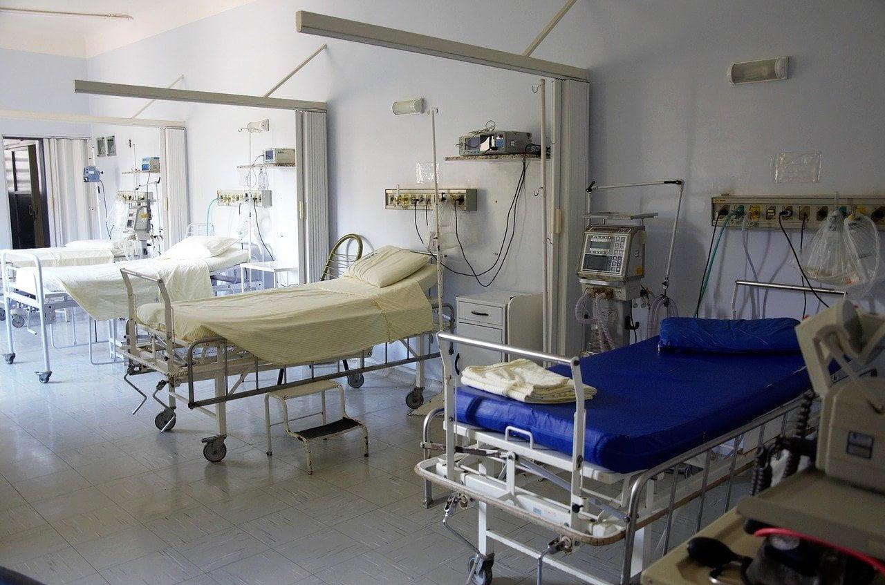 in interiorul unui spital