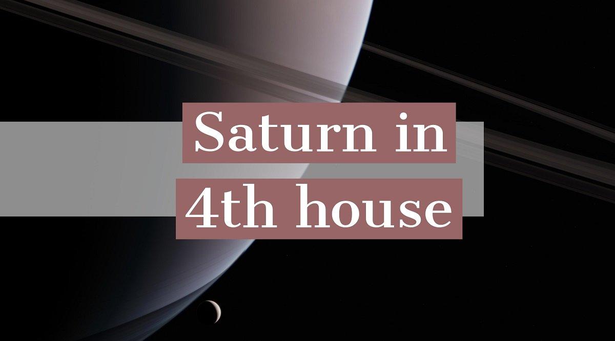 Saturn in Casa a IV-a