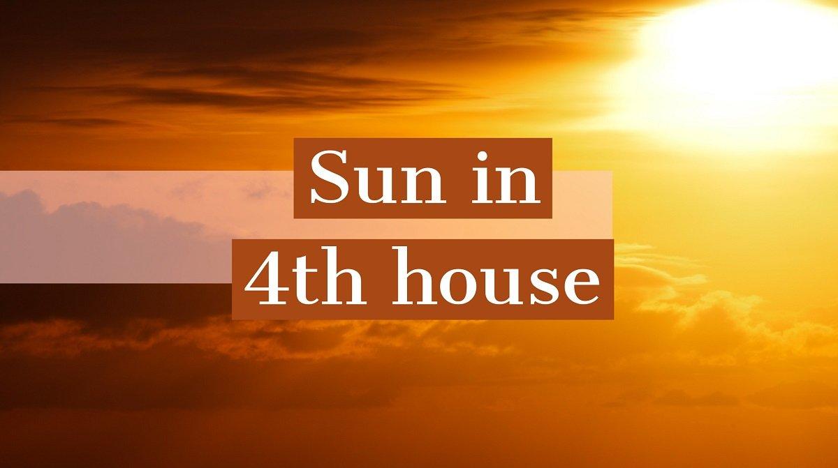 Soarele in casa a IV-a