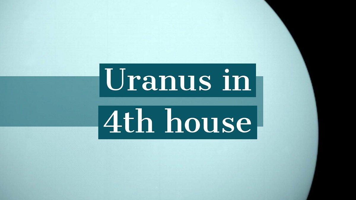 Uranus in casa a IV-a