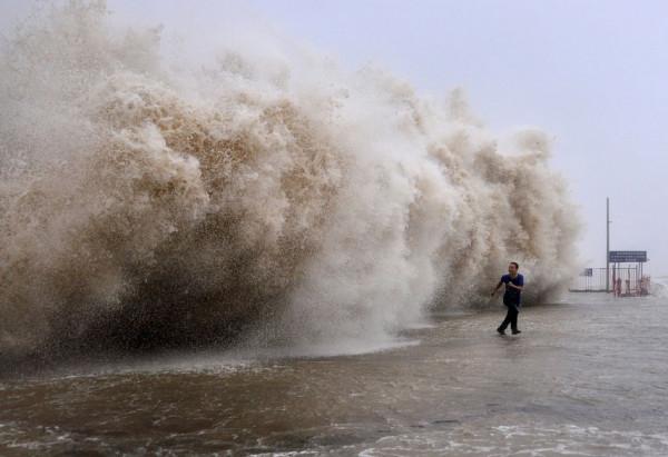Fugind de un tsunami, Foto: mnn.com