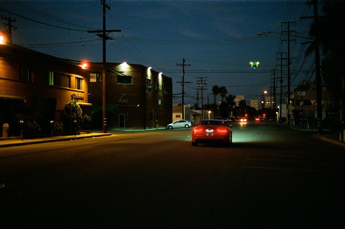 noaptea pe strada