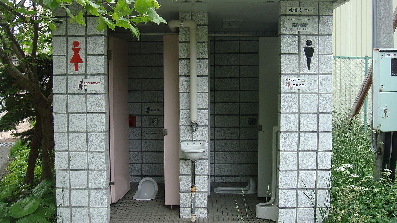 toaleta public in Japonia