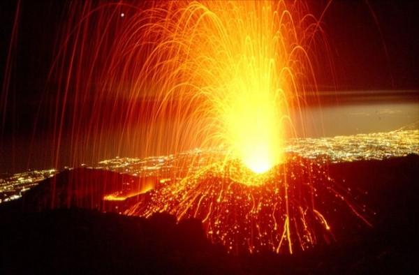 Vulcan ce erupe, Foto: planetminecraft.com