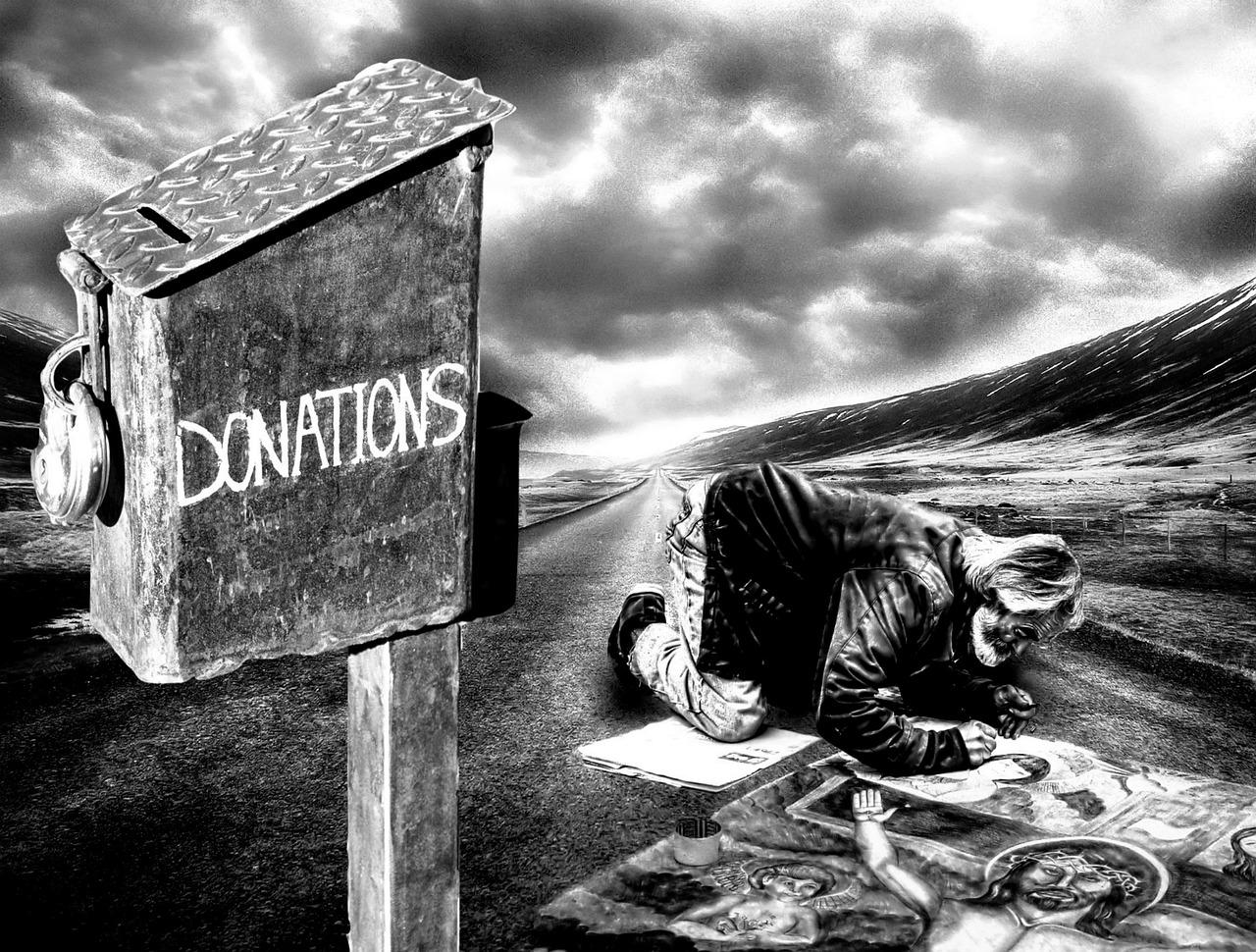 donatii pentru oamenii saraci
