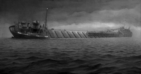 Corabie ce se scufunda, Foto: williamlewisfrederick.com