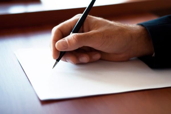 Om ce scrie o scrisoare, Foto: greglgilbert.com