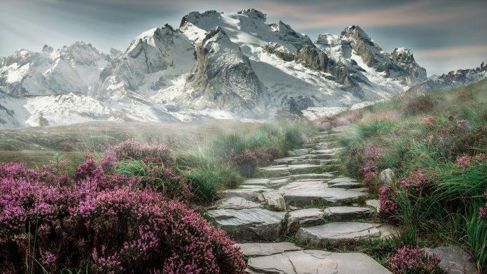 Interpretare vis in care cobori de pe un munte