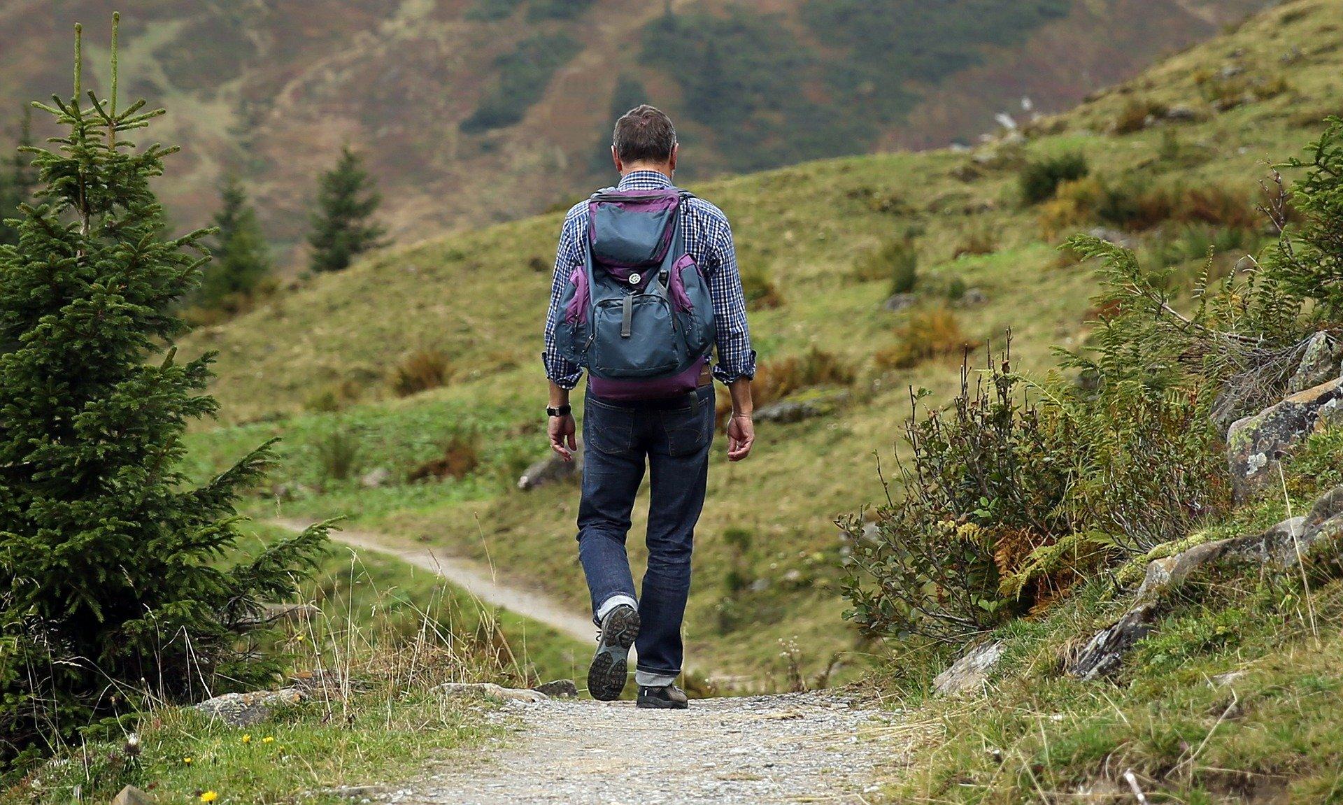 coborand de pe munte