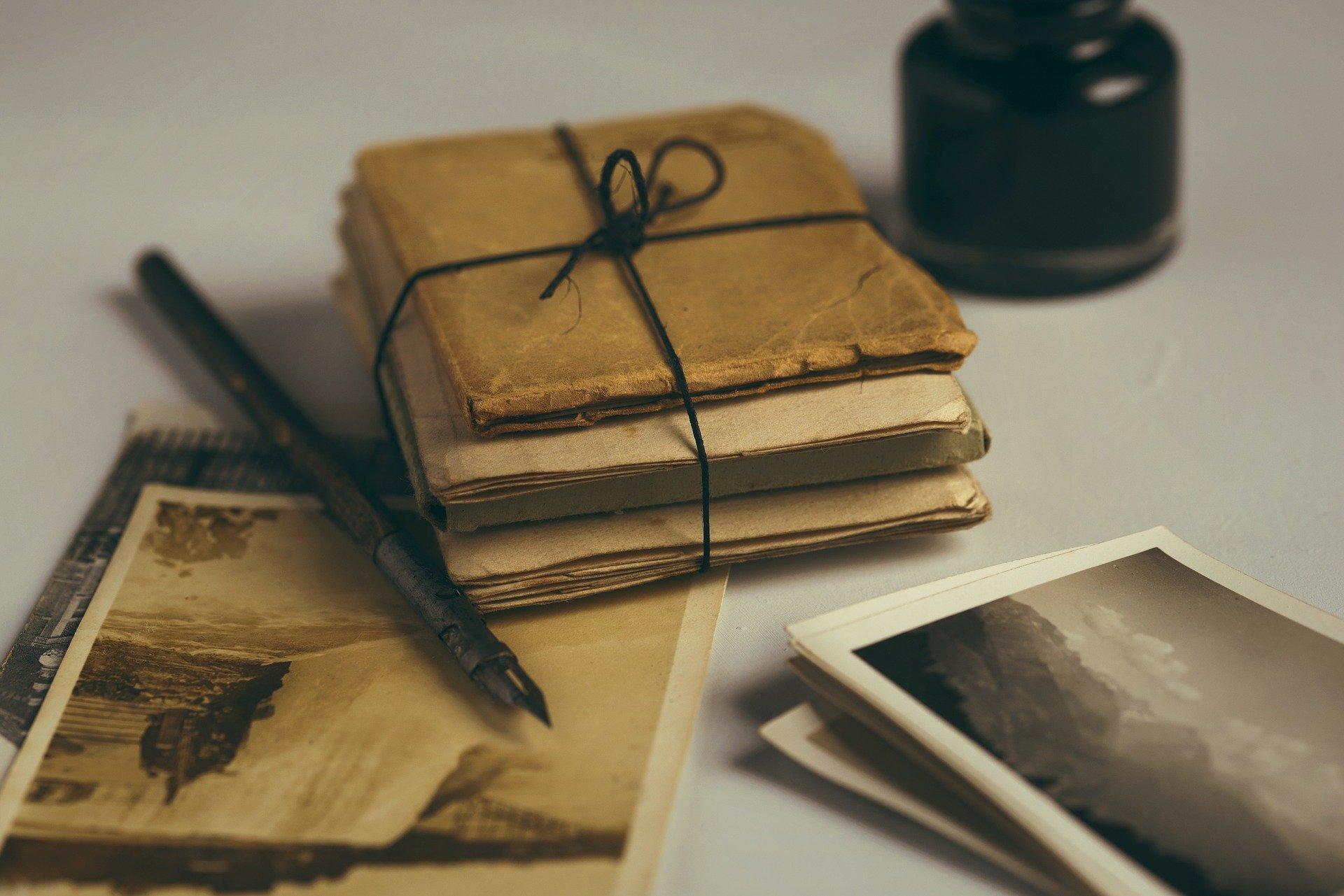 pachet cu scrisori
