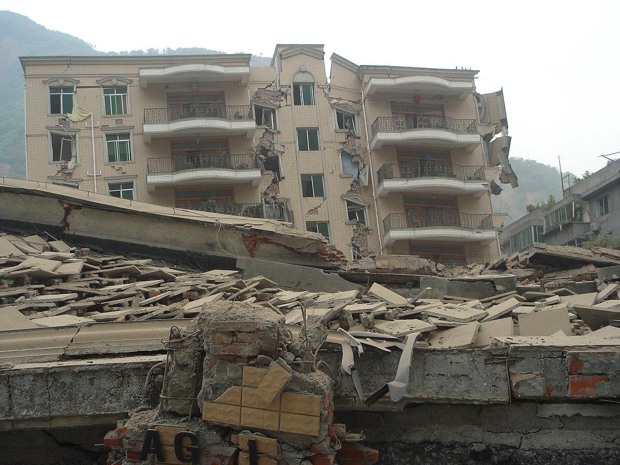 dezastru natural care a distrus un bloc