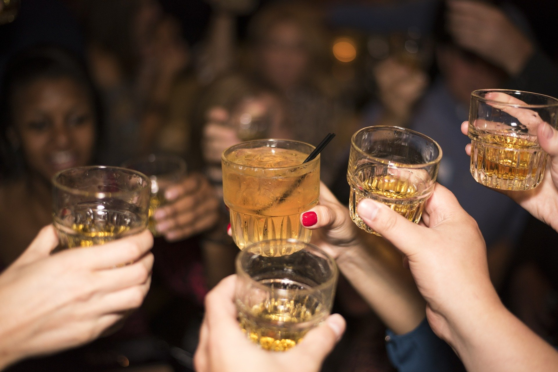 petrecere in club