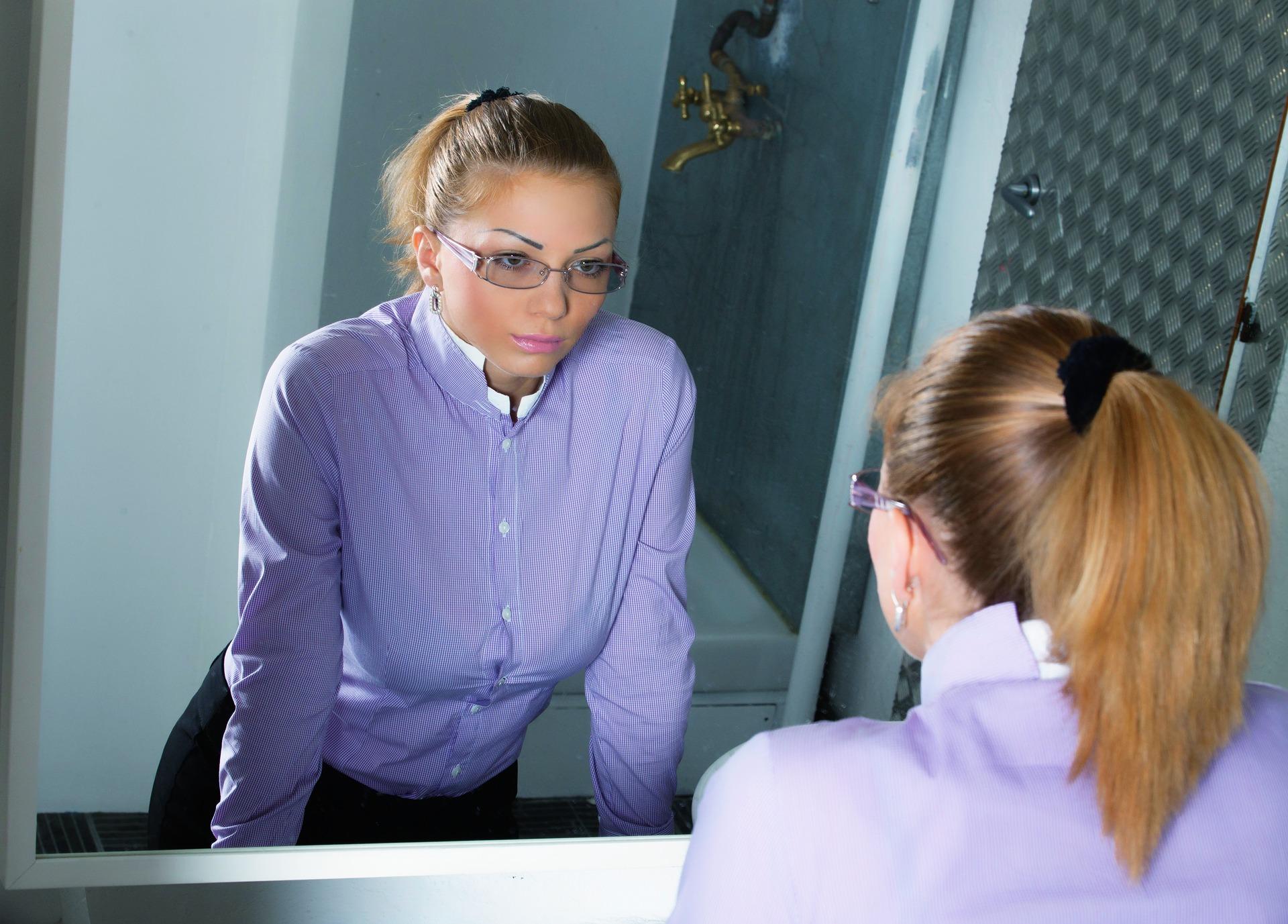 reflexie in oglinda